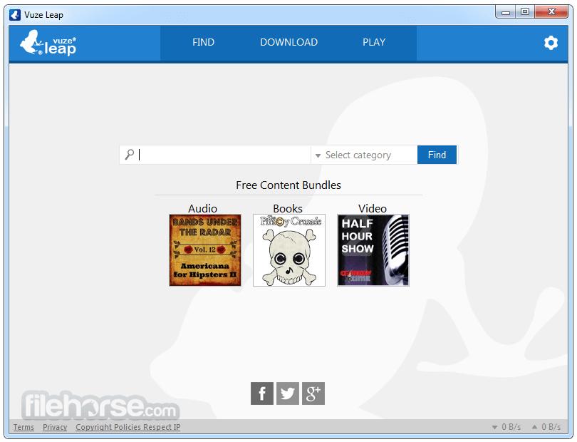 Vuze Leap App for PC Windows 10 Last Version